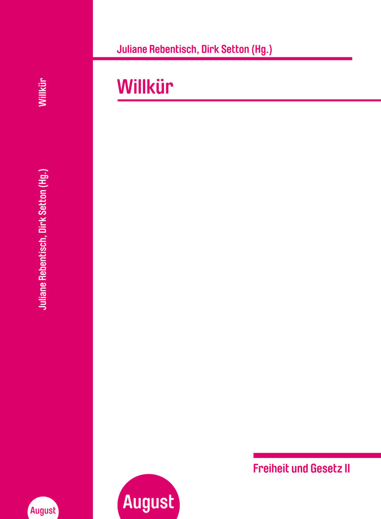 Willkuer cover 20 07