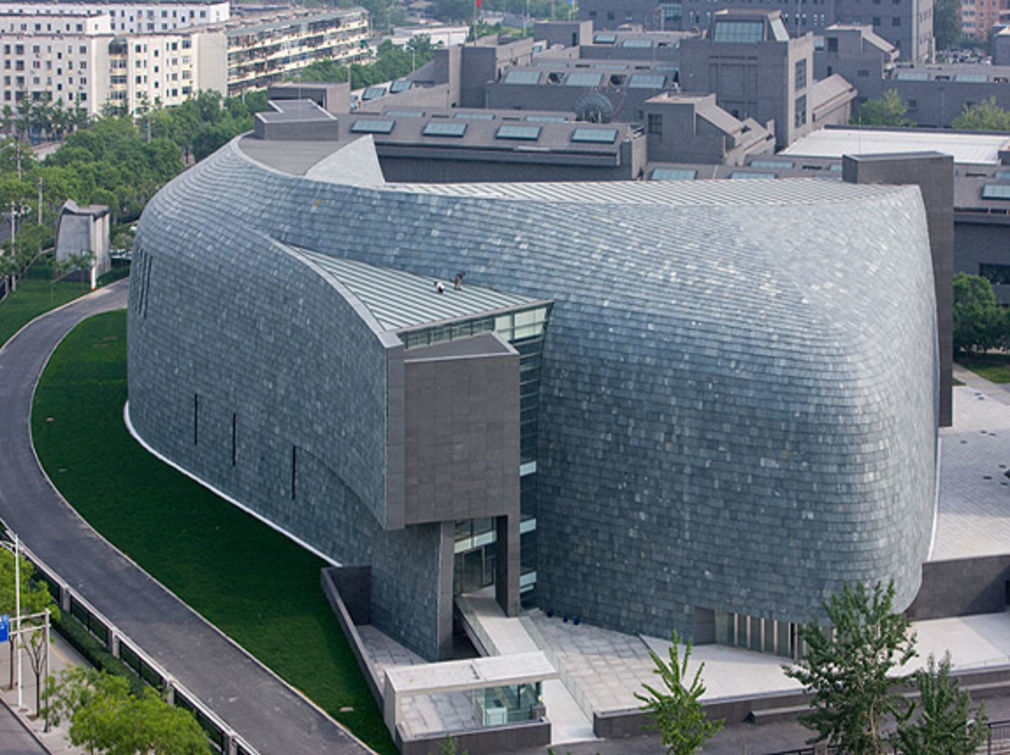 Cafa art museum design by arata isozaki01