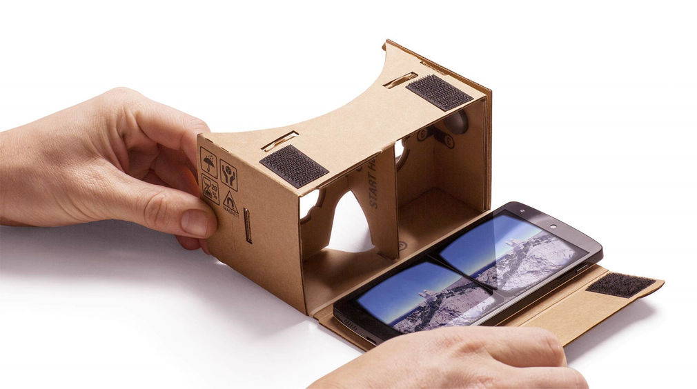 Google cardboard android virtual reality