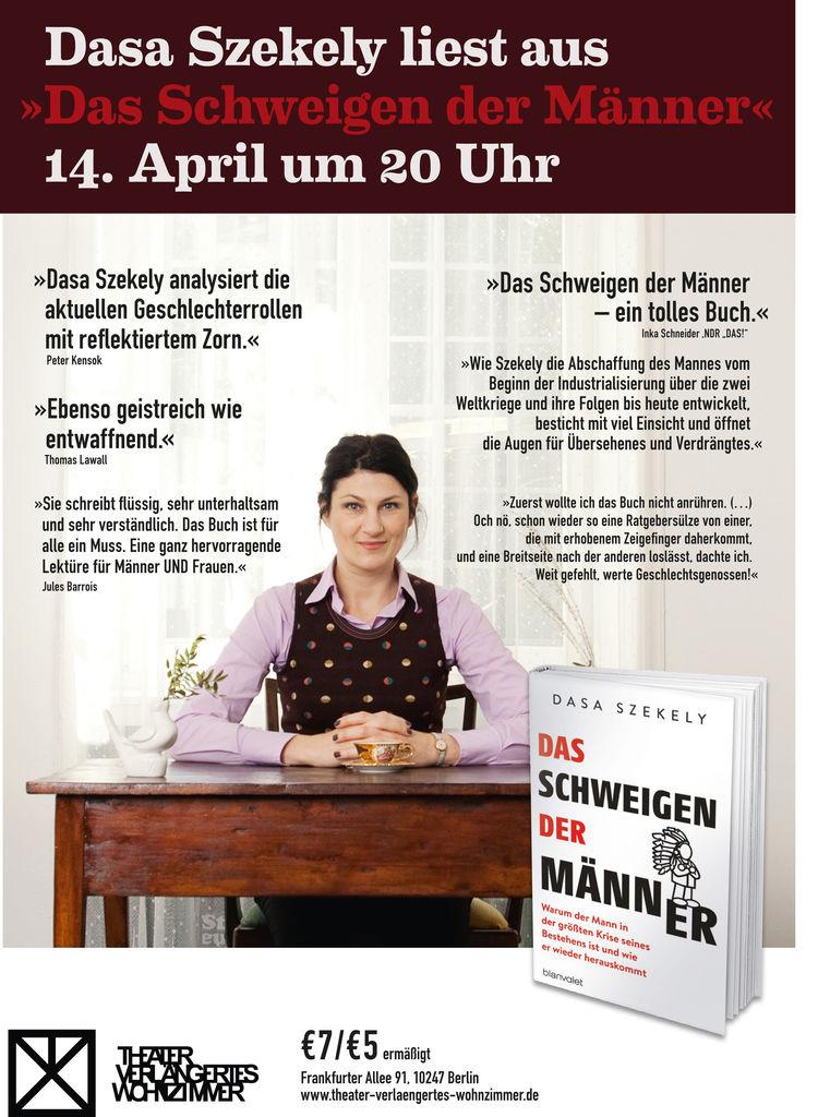 Hfg Offenbach Dasa Szekely Liest Aus Das Schweigen Der Manner