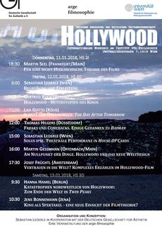 Hollywood workshop programm stand 5 1 2018