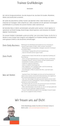 Www fuenfwerken com jobs trainee grafikdesign ab sofort 2