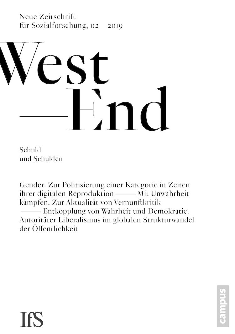Westend cover 2 2019