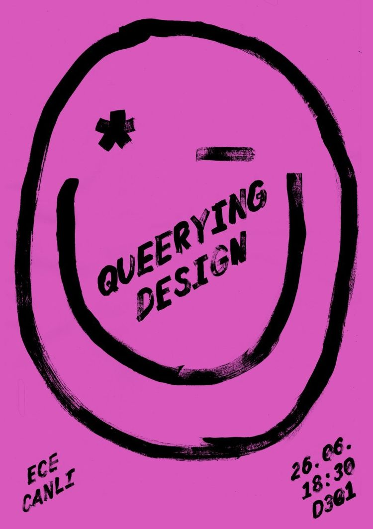 Queeringdesign poster laura brunner